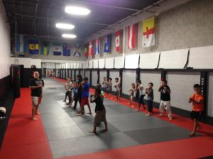 kids kickboxing, Richmond hill